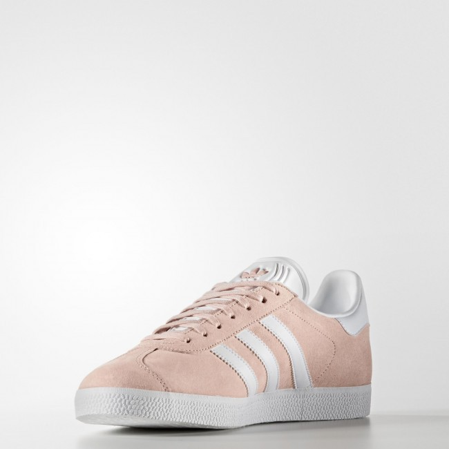 huge selection of f27af da41f ... Vapor Rosa Blanco Oro Metálico Zapatillas Mujer Hombre Adidas Originals  Gazelle (Bb5472 ...