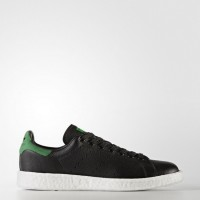 Núcleo Negro/Núcleo Negro/Verde Adidas Originals Stan Smith Boost Hombre Zapatillas (Bz0527)