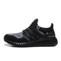 Hombre Adidas Ultra Boost X Yeezy Boost Negro Blanco Zapatillas running