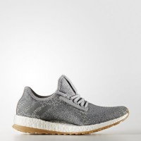 Medio Gris/Vista Gris/Plata Metálico Mujer Adidas Pure Boost All-Terrain Zapatillas running (Bb1728)