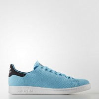 Brillante Azul/Núcleo Negro Hombre Adidas Originals Stan Smith Zapatillas (Bb0063)