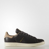 Mujer Zapatillas casual Adidas Originals Stan Smith Utilidad Negro/Rosa Amarillo (Bb5164)