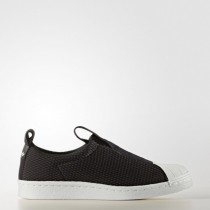 Mujer Adidas Originals Superstar Bw Slip-On Núcleo Negro/Núcleo Negro/Apagado Blanco Zapatillas casual (By9137)