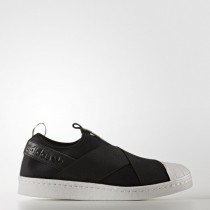 Zapatillas Negro/Blanco Mujer Adidas Originals Superstar Slip-On (S81337)