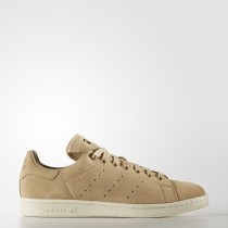Hombre Lino Caqui/Apagado Blanco Adidas Originals Stan Smith Zapatillas (Bb0039)