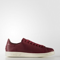 Mujer Zapatillas casual Adidas Originals Stan Smith Nude Rojo (Bb5144)