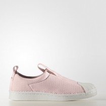 Zapatillas casual Mujer Adidas Originals Superstar Bw Slip-On Icey Rosa/Icey Rosa/Apagado Blanco (By9138)