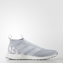 Claro Gris/Medio Gris Hombre Football Ace 16+ Purecontrol Adidas Ultra Boost Zapatillas (By9089)