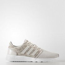 Mujer Tiza Blanco/Perla Gris/Icey Rosa Zapatillas running Adidas Neo Cloudfoam Qt Racer (Cg5775)