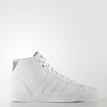 Zapatillas running Calzado Blanco/Cobre Metálico Mujer Adidas Neo Cloudfoam Daily Qt Mid (Aw4011)